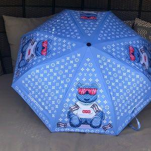 Louis Vuitton Blue Supreme Umbrella. Re-Poshing
